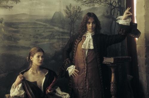 Rosamund in the film The Libertine