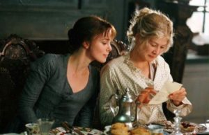 Rosamund in the film Pride and Prejudice