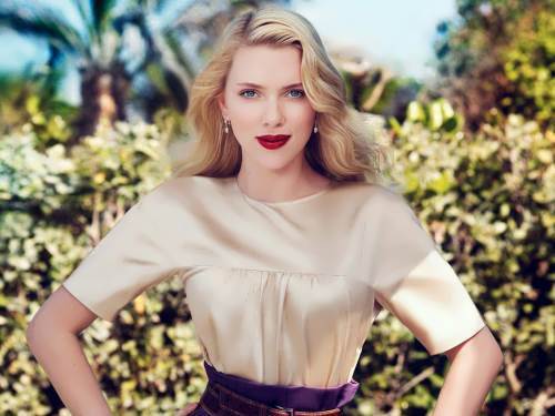 Scarlett Johansson - American actress and singer