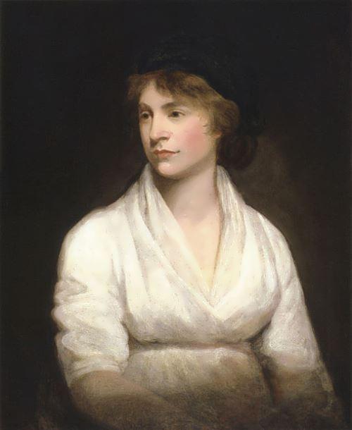 Mary Wollstonecraft by John Opie (c. 1797)
