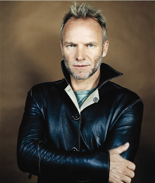 Sting – famous British musician
