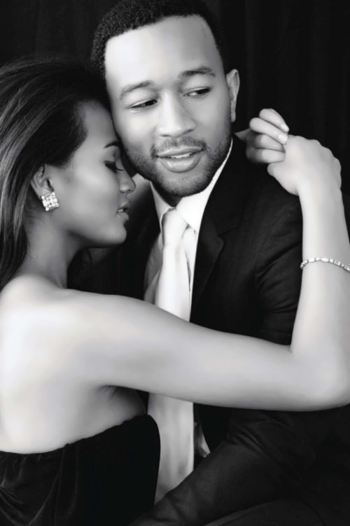 Chrissy Teygen and John Legend