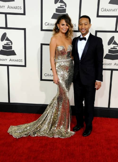 Chrissy Teygen and John Legend
