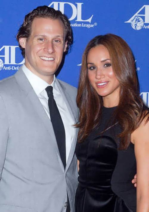 Meghan Markle and her ex-husband Trevor Engelson