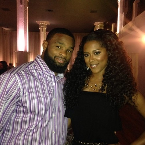 Tyron Woodley and his wife