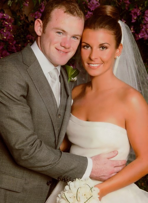 Rooney and his wife Coleen