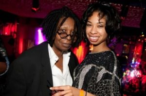 Whoopi and her daughter