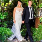 Mark Elliot Zuckerberg and his wife
