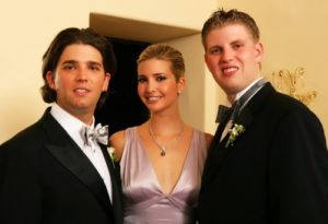 Ivanka and her brothers