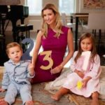 Ivanka with children