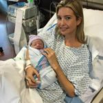 Ivanka and her newborn son