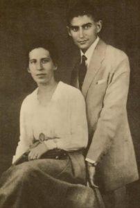 Franz Kafka with Felice Bauer, 1917