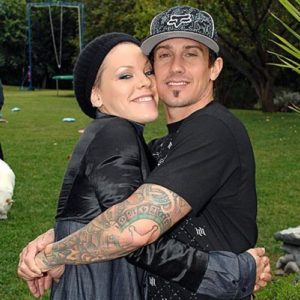 Pink and her husband Carey Hart