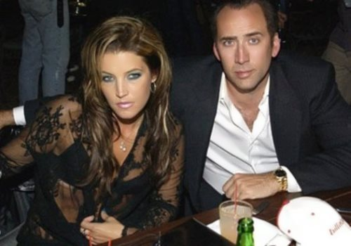 Lisa Marie and Nicolas Cage