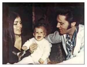 Lisa Marie and her parents