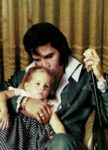 Lisa Marie and her father Elvis Presley