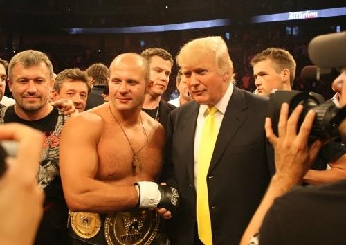 Trump and Fyodor Emelianenko