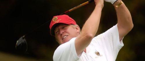 Trump golfer