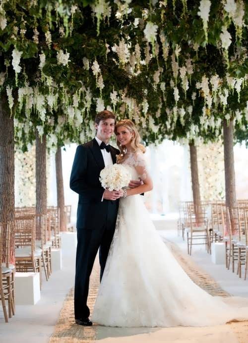 Jared and Ivanka at their wedding
