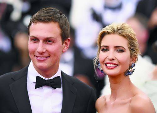 Ivanka and Jared Kushner