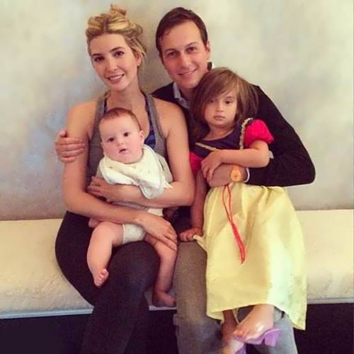 Ivanka, Jared and their children
