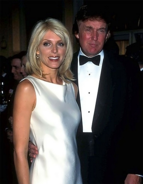 Trump and Marla Maples were married from 1993 to 1999