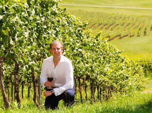 Donald Trump gave or sold the vineyard - the largest in Virginia – to his son, Eric
