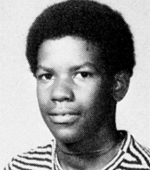 Denzel Washington in his childhood