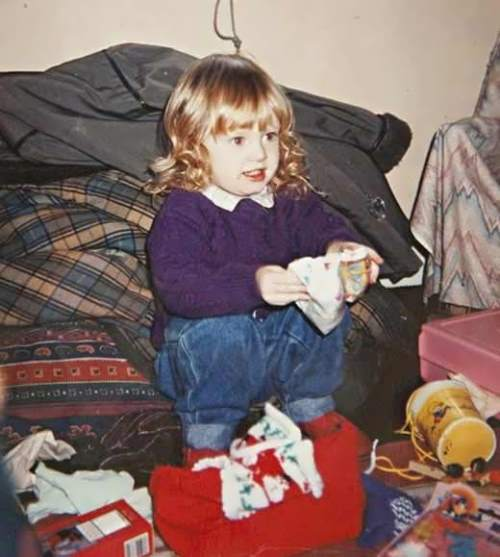 Adele in her childhood