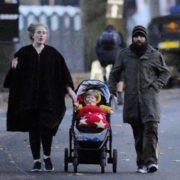 Simon Konecki, Adele and their son