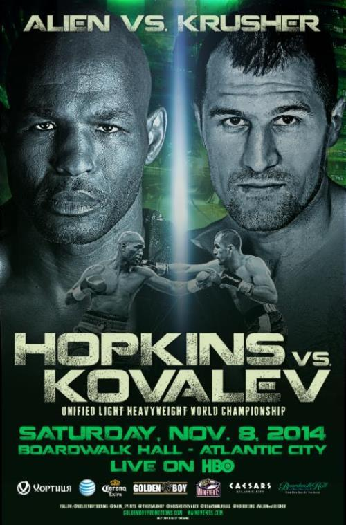 Hopkins vs Kovalev