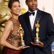 Halle Berry and Denzel Washington