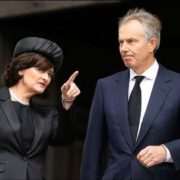 Tony Blair and his wife