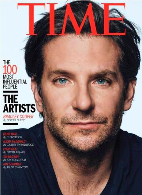 Cooper on the cover of Time magazine