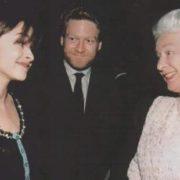 Queen Elizabeth and Kenneth Branagh