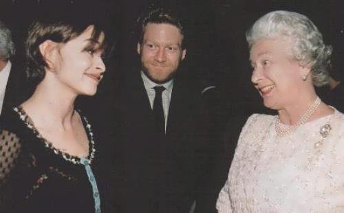 Queen Elizabeth and Kenneth Branagh