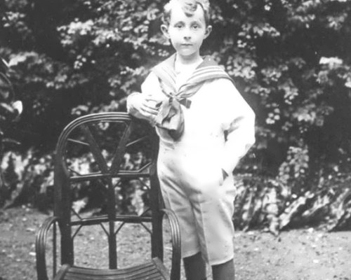 Christian Dior in his childhood