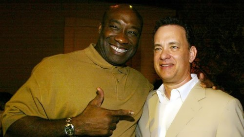 Michael Clarke Duncan and Tom Hanks