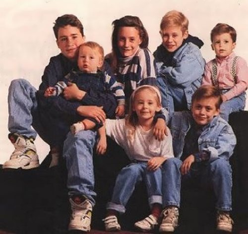 Macaulay and his siblings