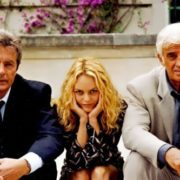 Alain Delon, Vanessa Paradis and Jean-Paul Belmondo