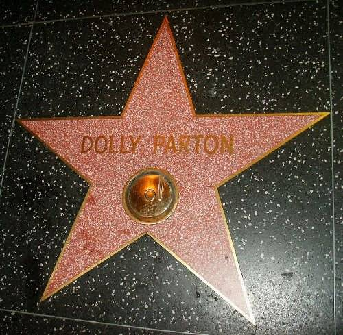 Dolly Parton's star on the Hollywood Walk of Fame