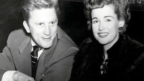 Kirk Douglas and Diana Dill