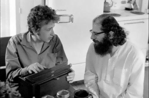 Bob Dylan and Allen Ginsberg