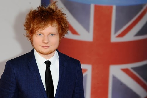 Ed Sheeran - British singer-songwriter