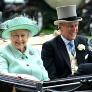 Elizabeth II and her husband Philip