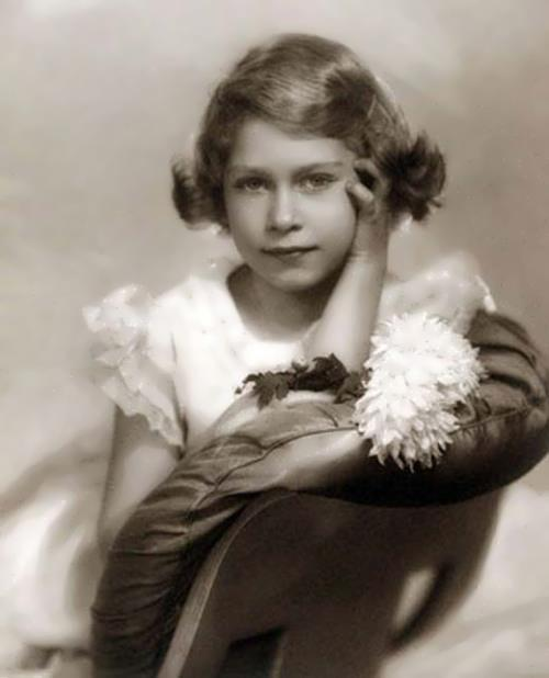 Elizabeth II in her childhood