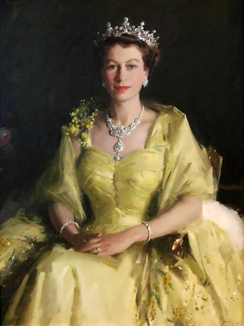 Portrait of Elizabeth II