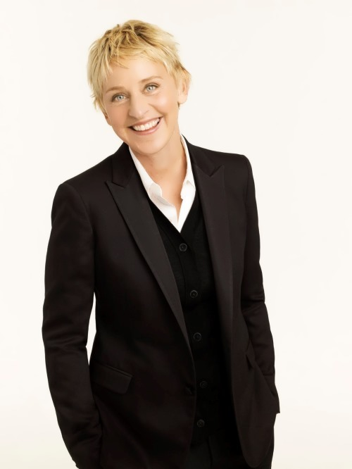 Ellen DeGeneres - actress and TV presenter