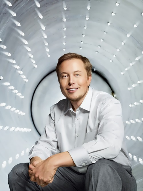 Elon Musk - Canadian-American engineer