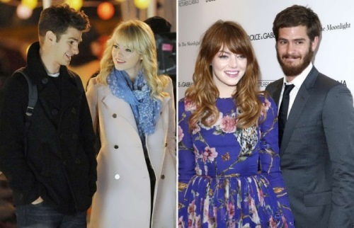 Emma and Andrew Garfield